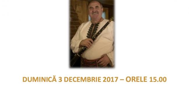 Spectacol cu ocazia Zilei Nationale a Romaniei  Duminica 3 decembrie 2017 , orele 15.00.